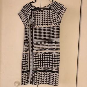 Black and white Merona dress size XS